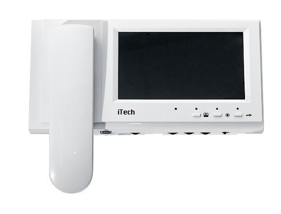 Комплект цветного видеодомофона iTech Pro