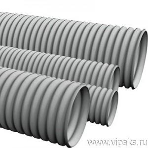 Труба гофрированная ПВХ 16мм с зондом