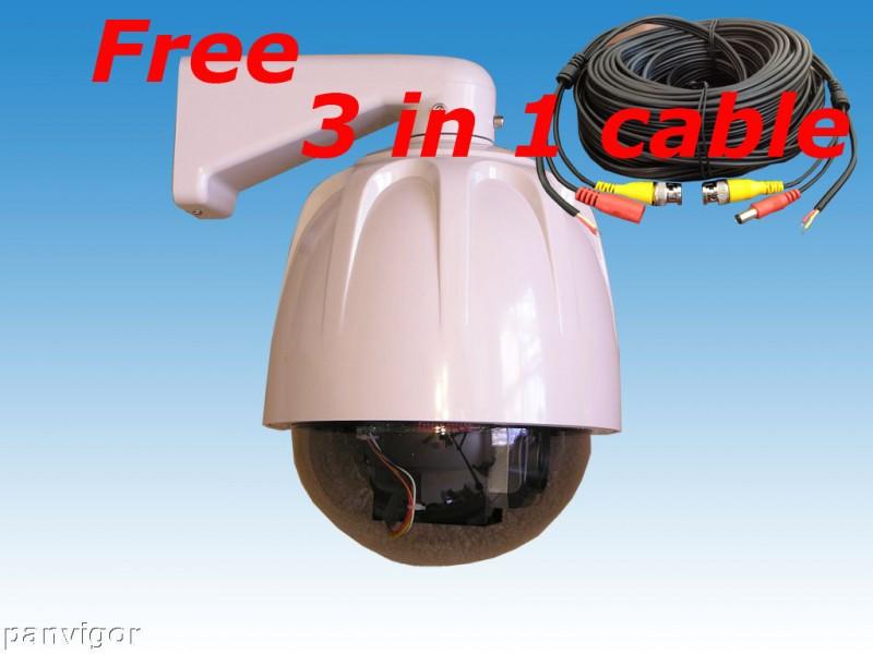 Уличная поворотная видеокамера 520TVL SONY 30X Optical Zoom PTZ