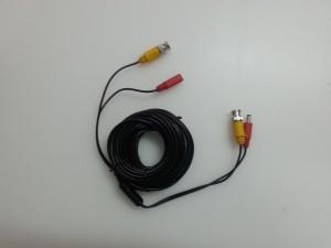 Готовый кабель BNC + питание. 10 м