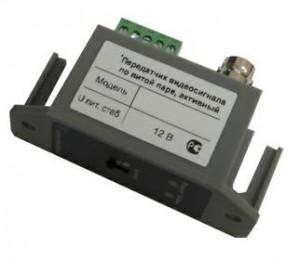 Передатчик VPS-801Т видеосигнала по витой паре на 2400 м(активный).