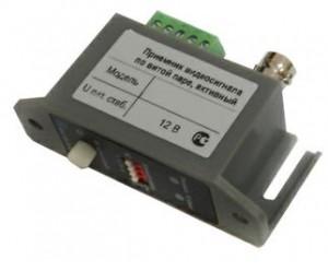 Приемник VPS-801R видеосигнала по витой паре на 2400 м(активный)