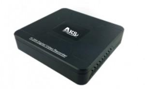 AKS-204 — гибридный 4-канальный видеорегистратор