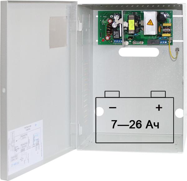 РАПАН-60 — бесперебойный блок питания 12 В 6 А
