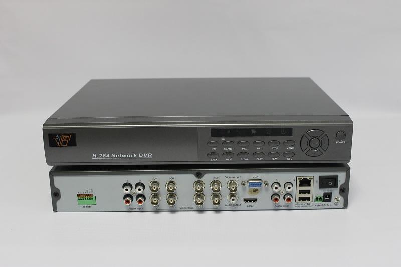 VPS DVR-5808M — 8-канальный аналоговый видеорегистратор