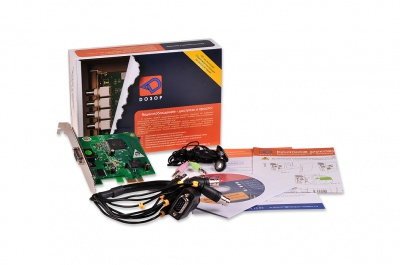 Дозор S-80200E — 8-канальная плата видеозахвата