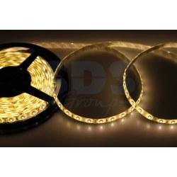 LED лента силикон, 8мм, IP65, SMD 3528, 60 LED/m, 12V, тепло-белая (цена за 5 метров)