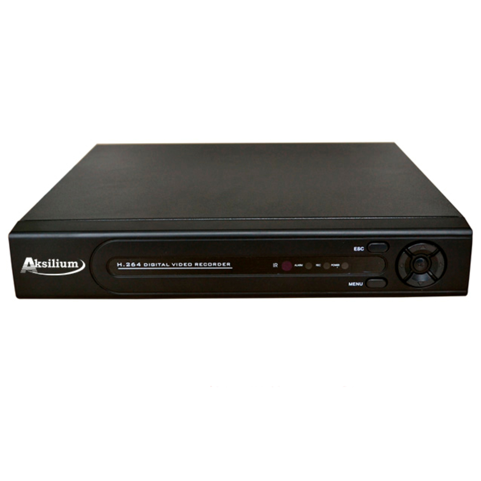 Аксилиум HVR 0404 (AHD/IP/CVBS/TVI/CVI — 3 / 4 Мп камеры)