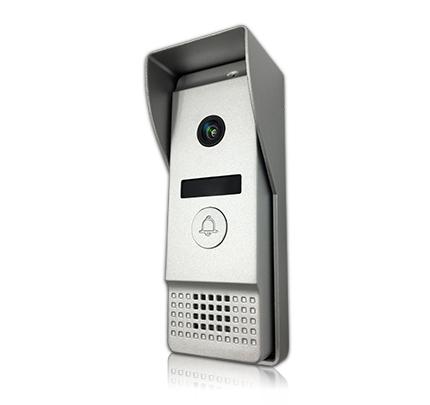 Вызывная видеопанель J2000-DF-АГАТ AHD 1,3 мп (серебро)