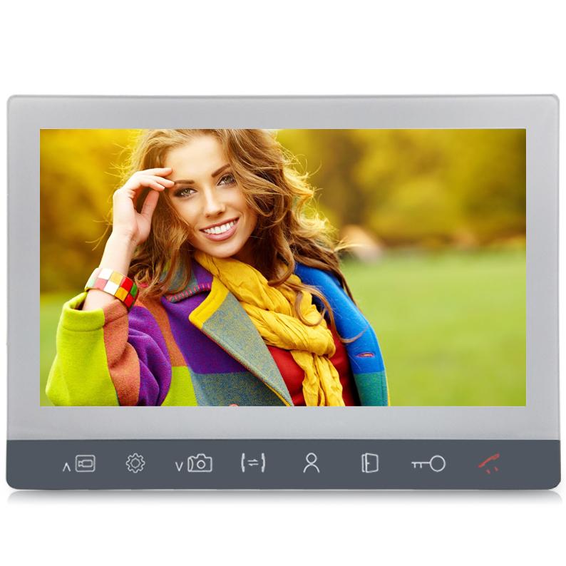 Монитор видеодомофона J2000-DF-АЛИСА 10″ (белый) AHD 2,0 mp