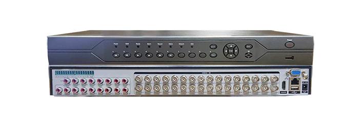 32-канальный гибридный AHD видеорегистратор HVR-324H-N