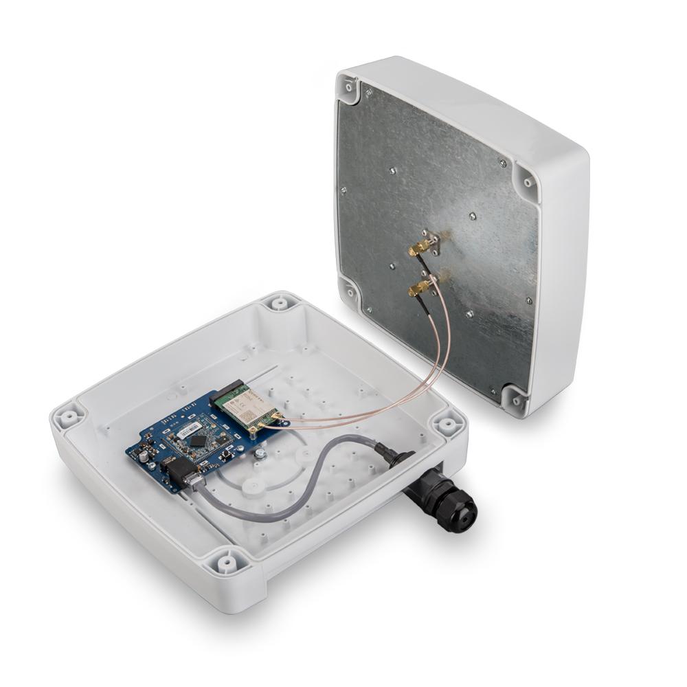 Антенна KAA15-1700/2700 U-BOX с роутером и mPCI модемом Quectel EC25