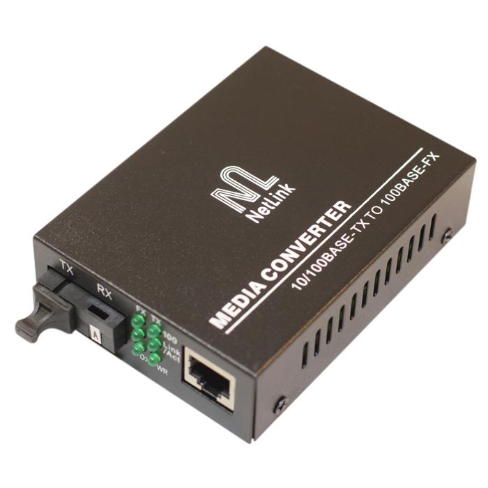 Медиаконвертер NetLink FE-920B20SC (Tx-1550nm, Rx-1310nm)