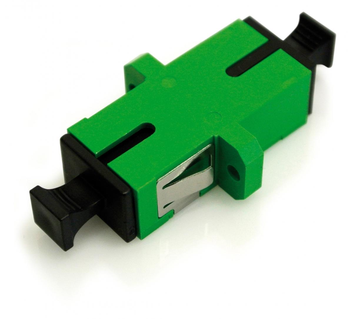 Розетка оптическая SC/APC SM simplex (упаковка 25 штук)