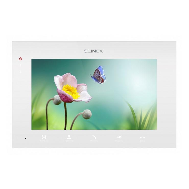 Видеодомофон Slinex SQ-07MT White, Black с сенсорным экраном и программной детекцией движения