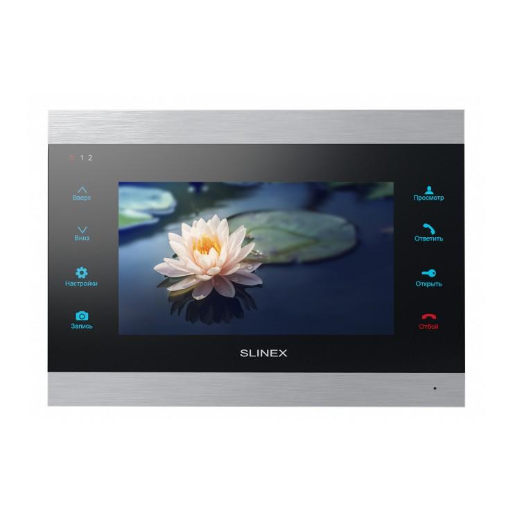 Видеодомофон Slinex SL-07IP  (Silver+White, Silver+Black)