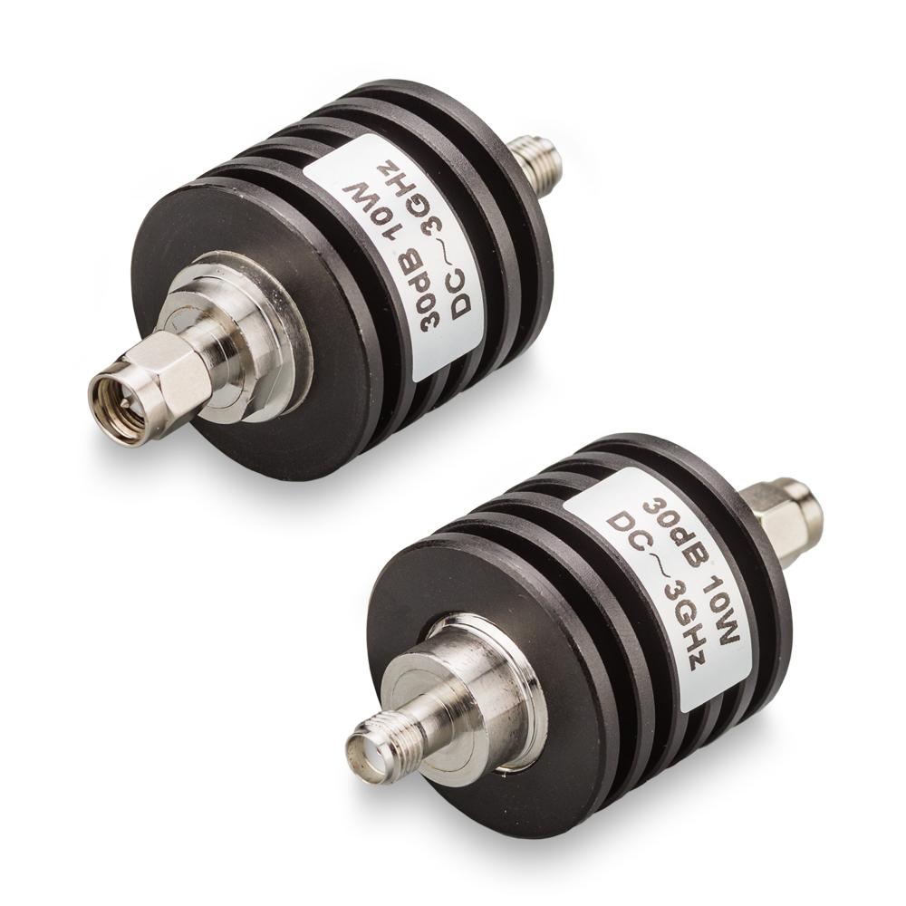 Аттенюатор 30 дБ SMA-50-30-10 (0-3 ГГц)