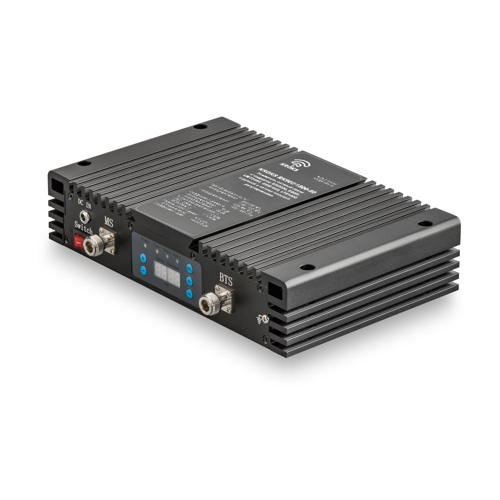 Двухдиапазонный репитер GSM900/1800 сигнала 80дБ KROKS RK900/1800-80M