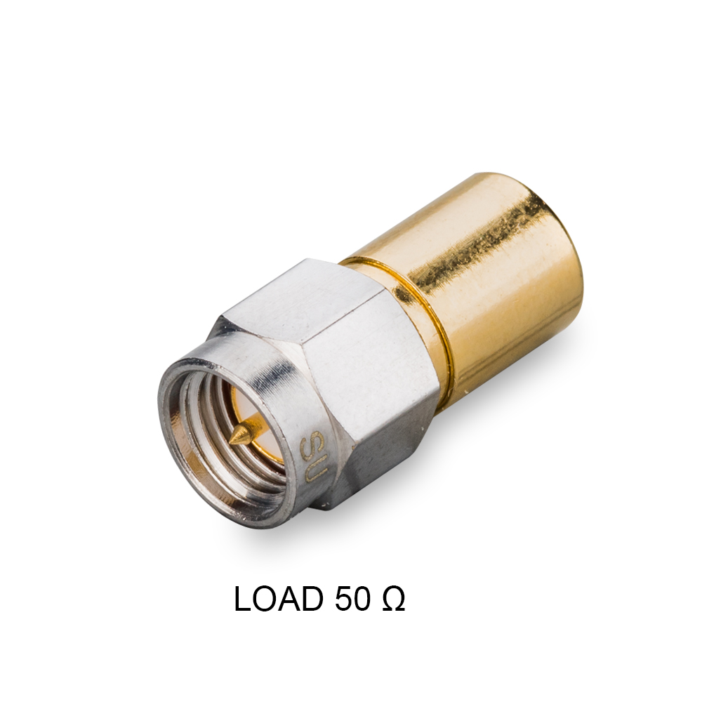 Согласованная нагрузка SMA(male), 50 Ом, до 7 ГГц, до 2 Вт