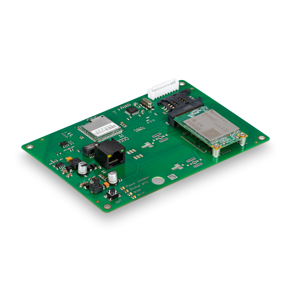 Роутер Kroks Rt-Brd RSIM eQ-EC с m-PCI модемом Quectel EC25-EC, с  поддержкой SIM-инжектора