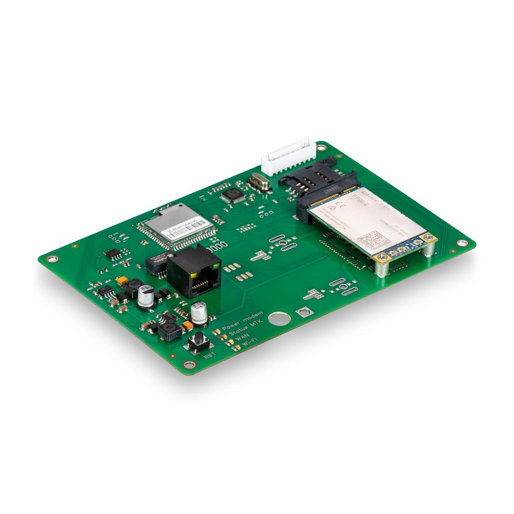Роутер Kroks Rt-Brd RSIM eQ-EP с m-PCI модемом Quectel EP06-E, с поддержкой  SIM-инжектора