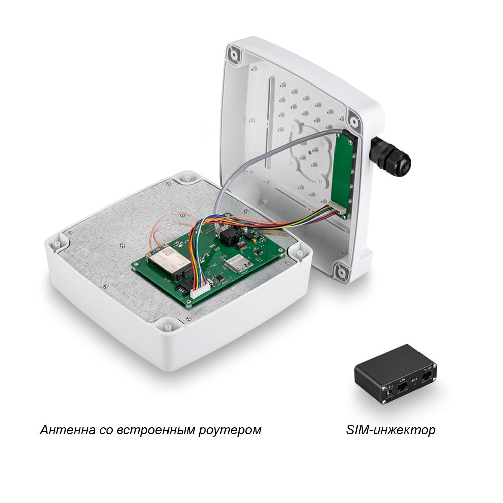 Роутер Rt-Ubx RSIM eQ-EP с m-PCI модемом LTE cat.6 Quectel EP06-E, с поддержкой SIM-инжектора 2038