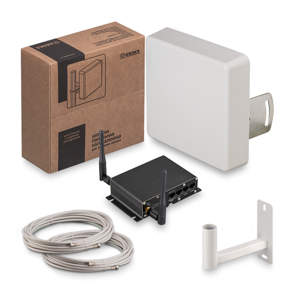 Комплект 3G/4G интернета KSS15-3G/4G-MR MIMO