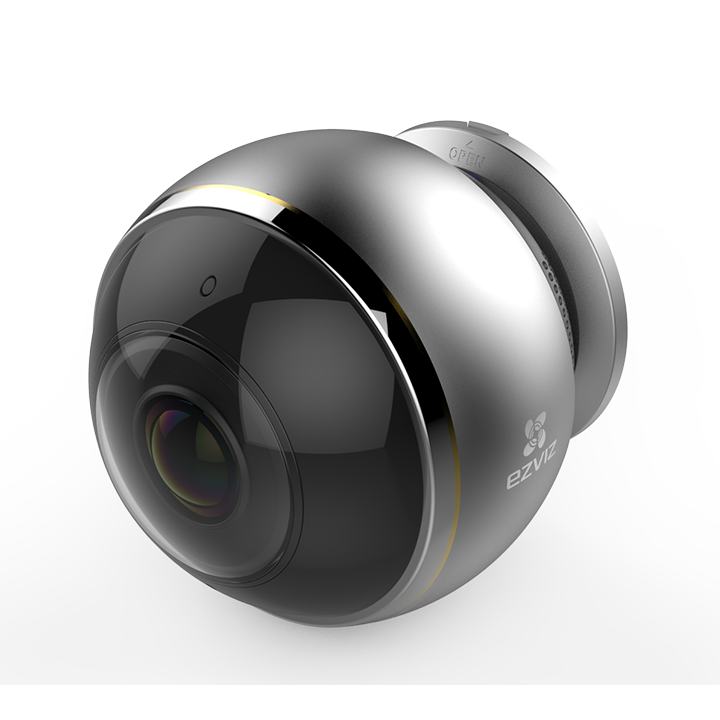 EZVIZ C6P — Панорамная Wi-Fi камера c эффектом «рыбий глаз»