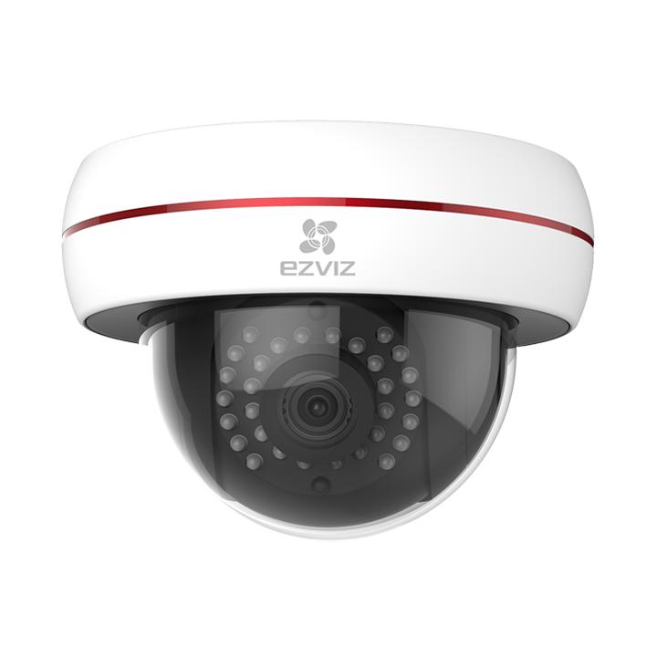 EZVIZ C4S — Купольная Full HD камера с подключением через Wi-Fi или Ethernet