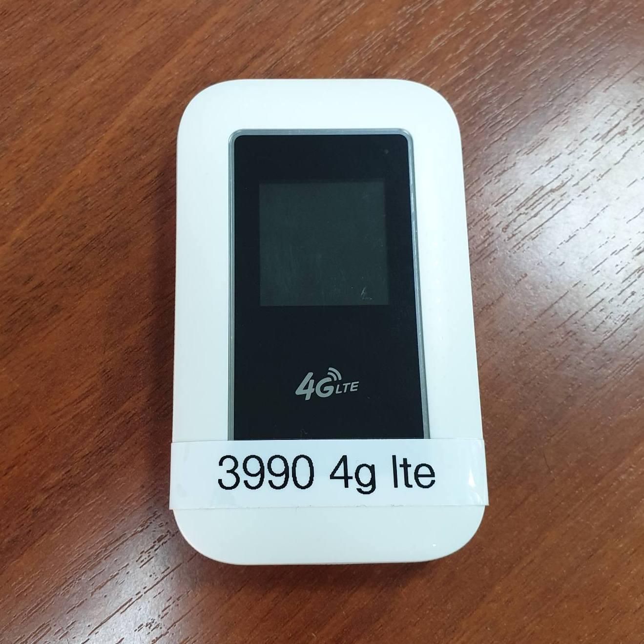 Портативный 4G LTE Wi-Fi роутер CPE POCKET  с поддержкой sim карты