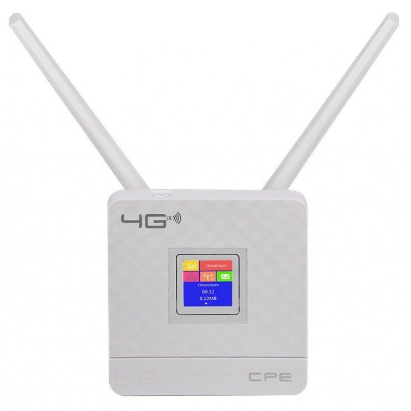 4G LTE Wi-Fi роутер CPE 1 Port — с поддержкой sim карты (CPE903)