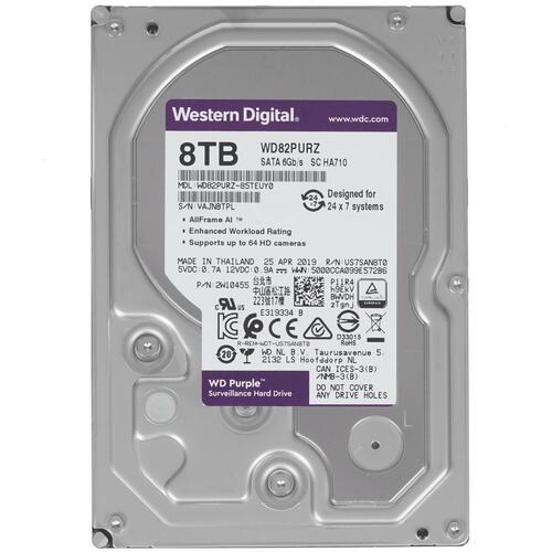 8 ТБ Жесткий диск WD Purple [WD82PURZ]